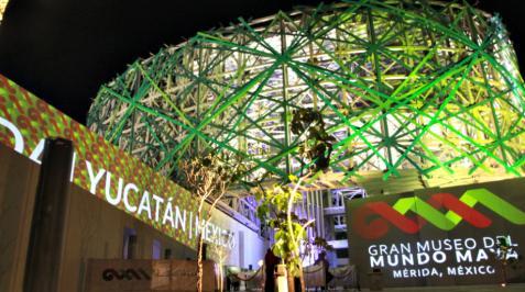 Gran Museo del Mundo Maya, inaugurado por Enrique Peña el 21 de diciembre de 2012