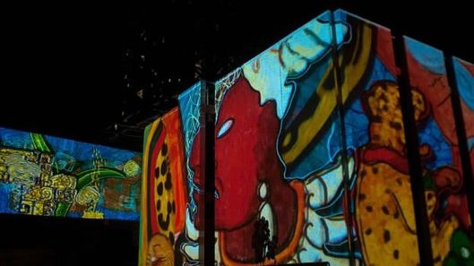 Luz y Sonido, exposición del Gran Museo del Mundo Maya