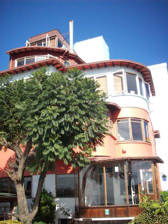 La Sebastiana, casa donde vivió Pablo Neruda en Valparaíso