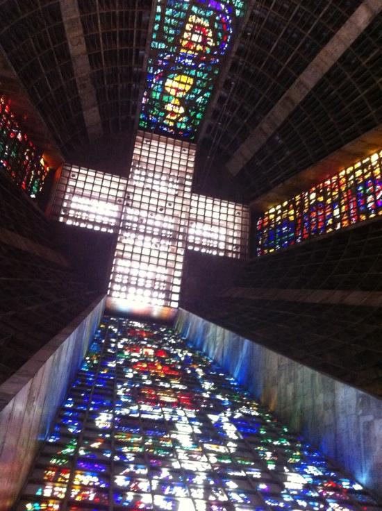 Interior de la Catedral de Río