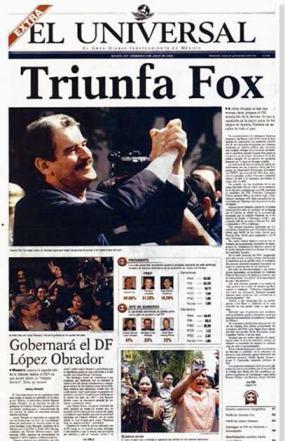 Triunfa Fox (y triunfa también México)