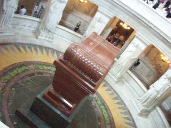 La tumba de Napoleón