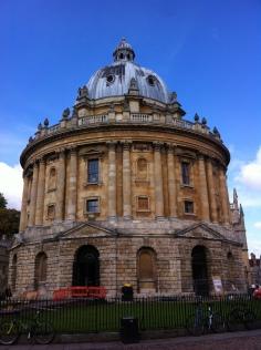 Salón de lectura en Radcliff Square de la Universidad de Oxford