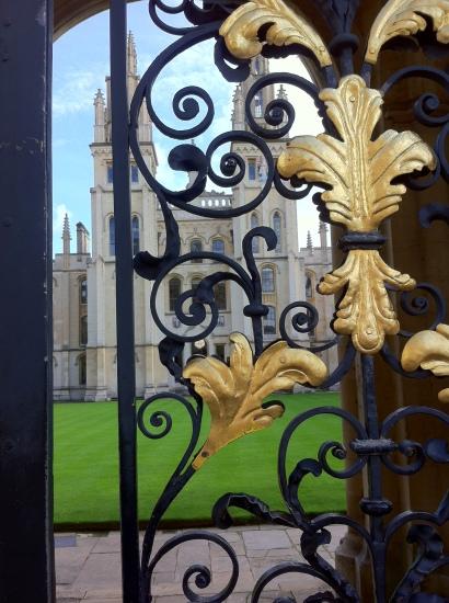 Edificio central de la Universidad de Oxford