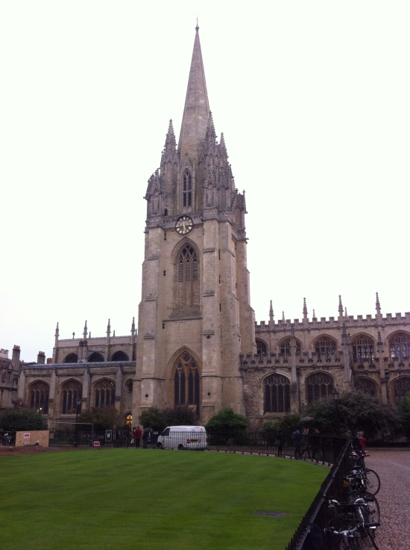 Biblioteca central de la Universidad de Oxford