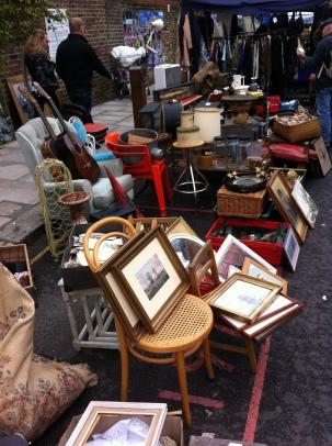 Antigüedades en Portobello Market.
