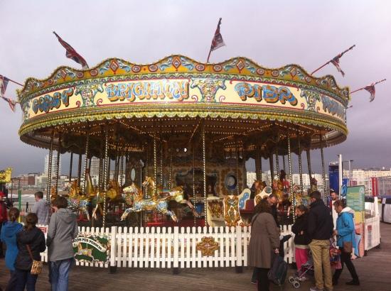 Feria en Brighton Pier