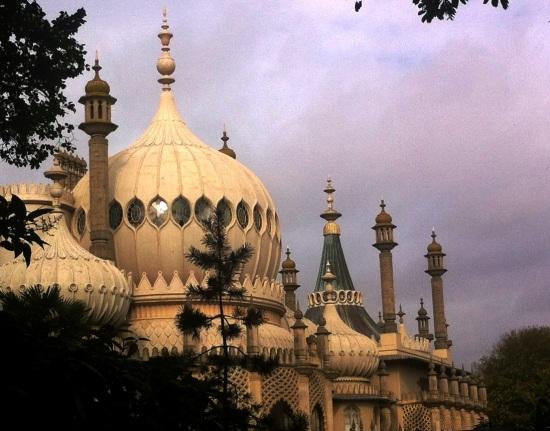 Vista del Royal Pavilion de Brighton