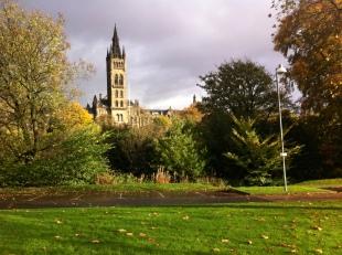 Torre de la Universidad de Glasgow