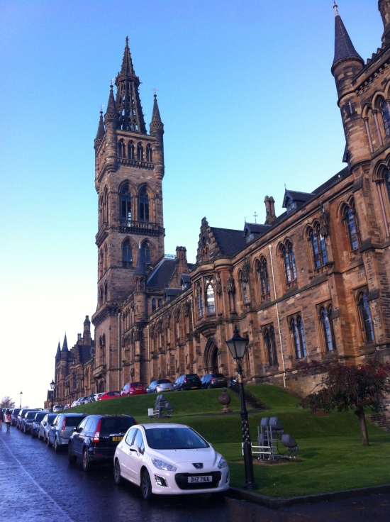 Torre de la Universidad de Glasgow