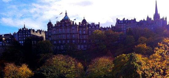 Vista de Princess Street gardens