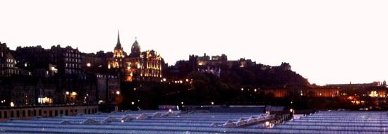 Vista de el Castillo de Edimburgo