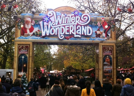 Winter Wonderland 2013 en Hyde Park, Londres.
