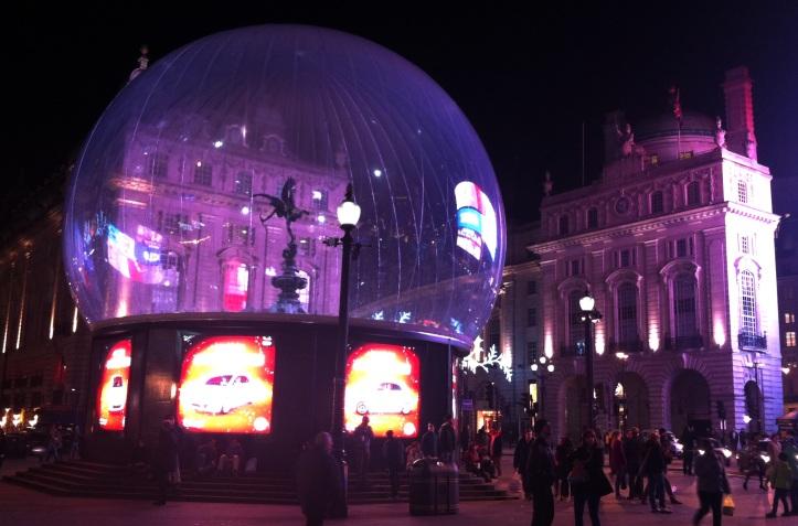Navidad en Picadilly Circus