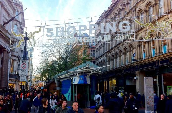Mercado navideño de Birmingham