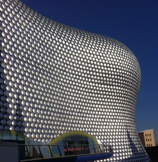 Selfridges, una tienda departamental de Birmingham