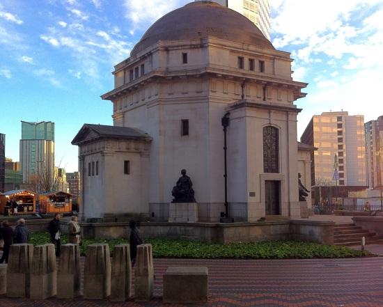 Memorial a los caídos de las dos guerras mundiales,  Birmingham