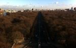 Vista del Tiergarten en Berlín