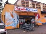 Tienda de conveniencia en la parte comunista de la ciudad de Berlín