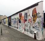 Restos del Muro de Berlín en East Side Gallery