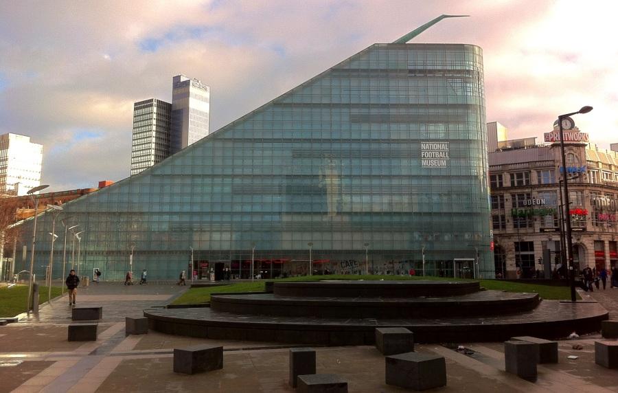 Museo Nacional del Fútbol, en Manchester