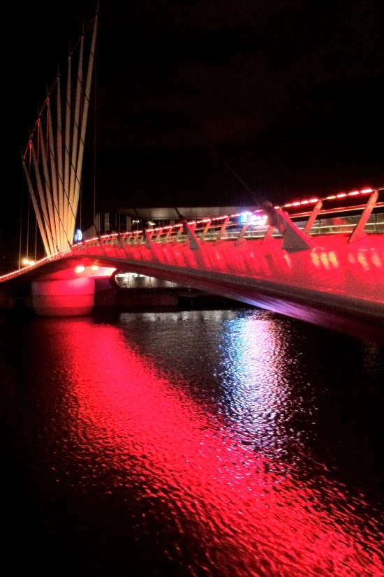 Puente sobre el Río Irwell