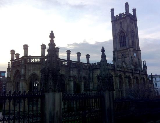 Iglesia de San Lucas, destruída en la guerra