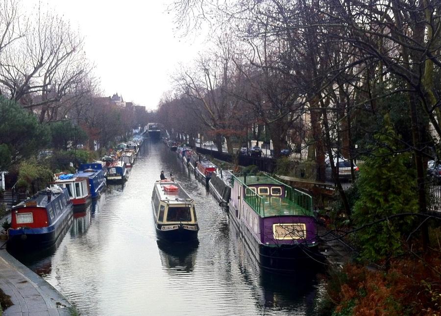 Main canal in Little Venice, London