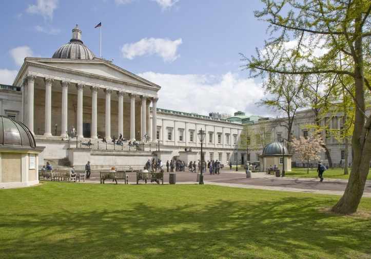 Edificio central de UCL