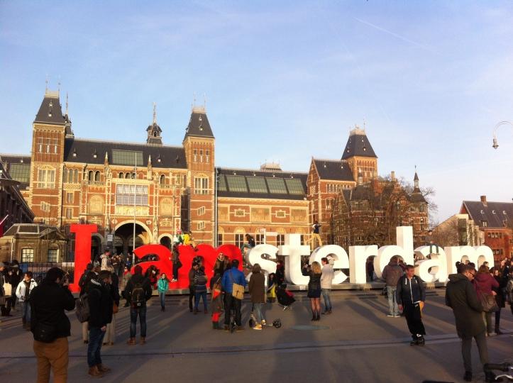 Rijkmuseum and the museumplein