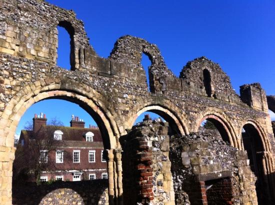 Restos del antiguo Canterbury