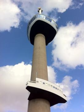 Euromast, antena en Rotterdam