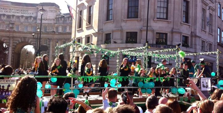 Desfile de San Patricio en Trafalgar Square