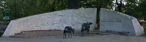 Tribute to Animals in War, near Hyde Park.