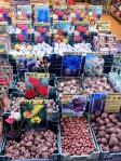 Venta de semillas germinadas en el mercado de las flores, Ámsterdam