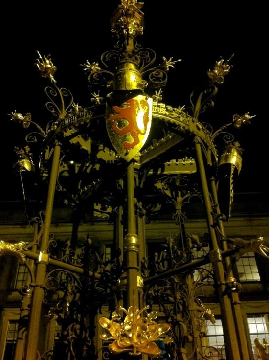Escultura en el Binnenhof, parlamento de los Países Bajos
