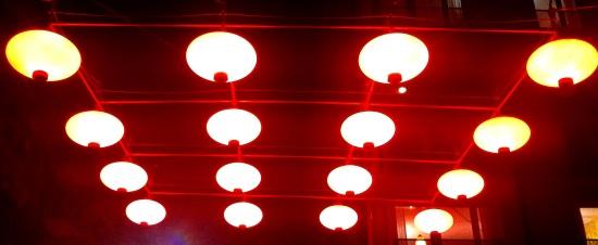 Iluminación en Chinatown