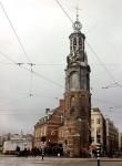 El Munttoren o Torre de la Moneda en Ámsterdam