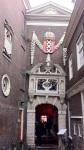 Museo de Ámsterdam, con el ícono de la ciudad (XXX)