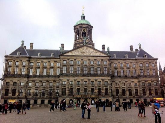 Palacio Real el la Plaza DAM