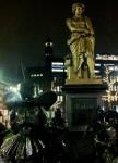 Rembrandtplein y la obra Night Watch de Rembrandt