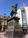 The Black Prince in the City Square, Leeds.