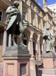James Watt in the City Square, Leeds.