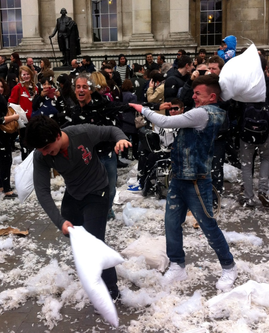 World Biggest Pillow Fight