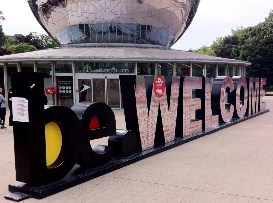 Atomium, Bruselas.