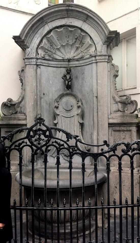 Manneken-Pis o Niño Orinando