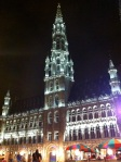 Plaza central de Bruselas