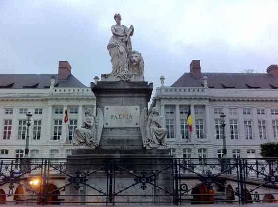 Plaza de los mártires de Bélgica
