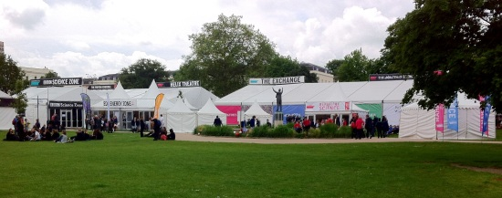 Setting for the Cheltenham Science Festival