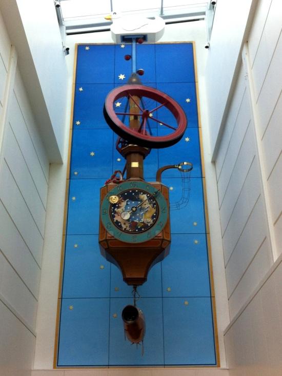 Clock at the Regent Arcade, Cheltenham